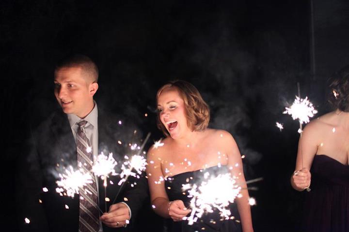 zimne ognie atrakcje na wesele
