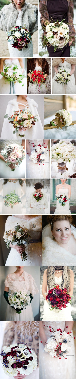 1zimowe aranżacje kwiatowe bukiety ślubne