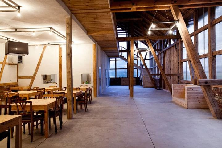 stodoła zwana oczyszczalnią oczyszczalnia wesele fotograf