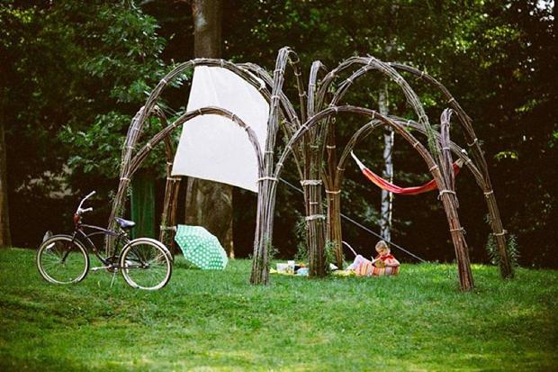 co zamiast namiotu w plenerze