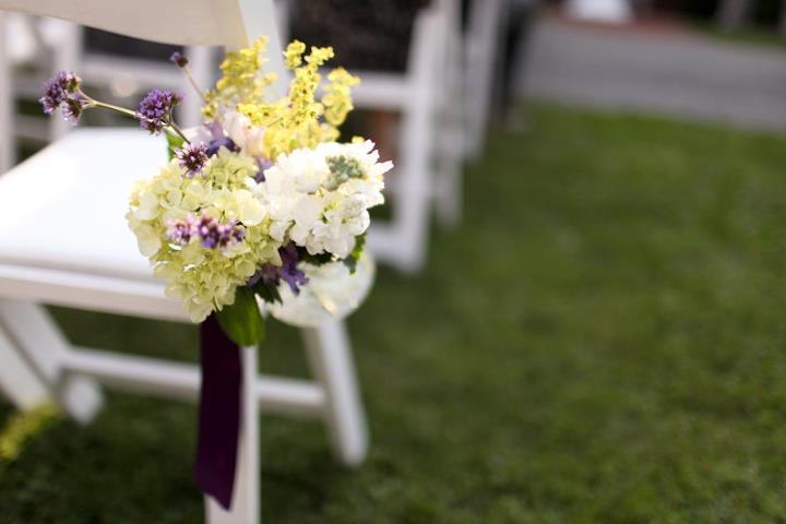 dekoracje ślubne w plenerze