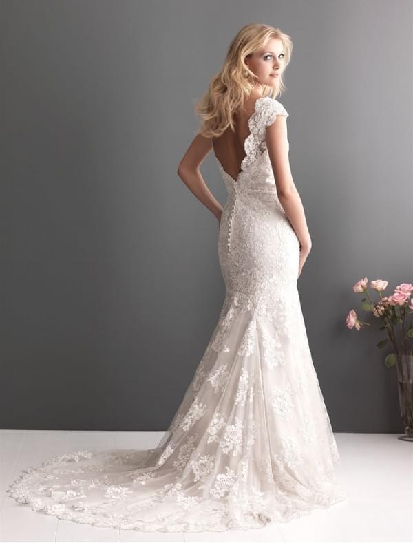 suknia ślubna rybka zdjęcie