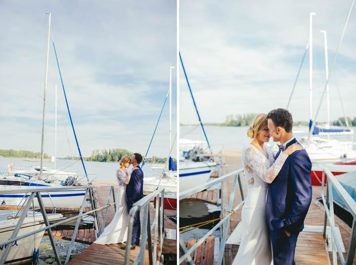 anna dedo sesja ślubna nad jeziorem zdjęcia