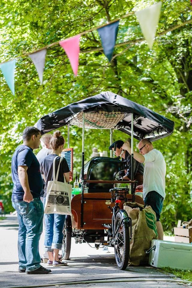 bike cafe na wesele