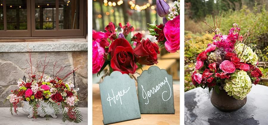 kwiaty na ślub jesienią
