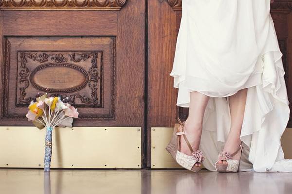 buty na platformie na ślub