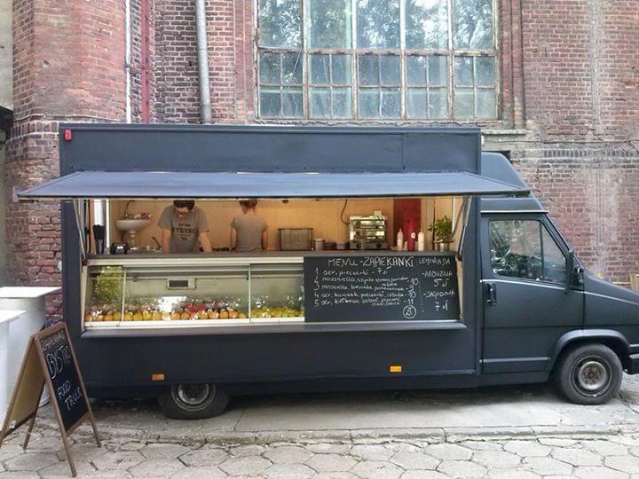 food truck na weselu