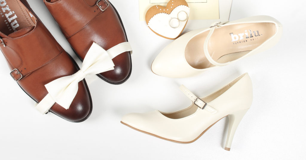 buty slubne zdjecie