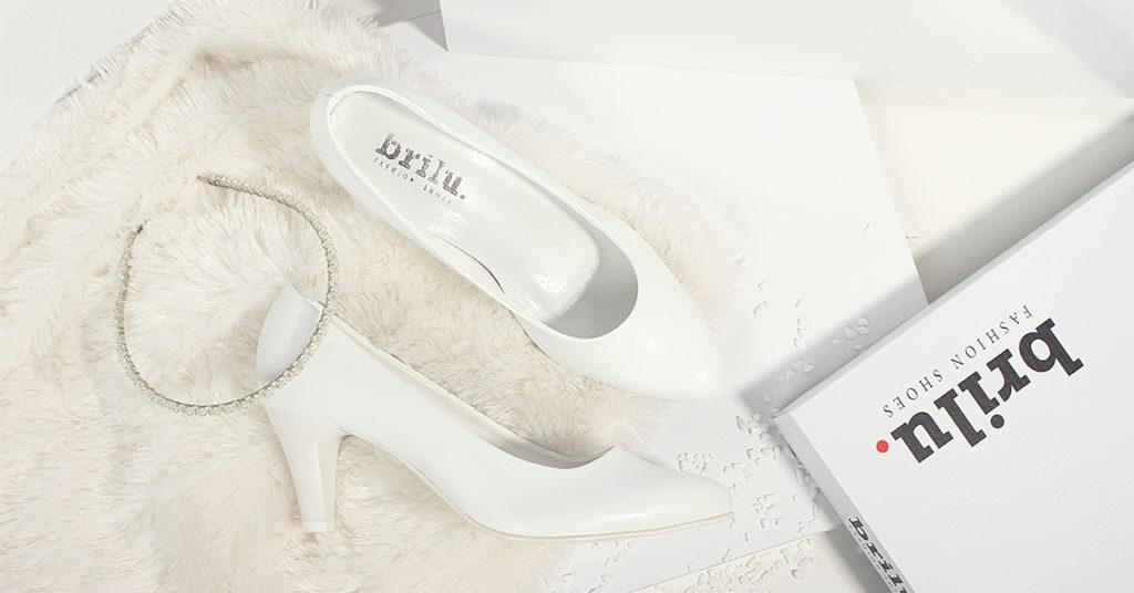 biale buty slubne zdjecie