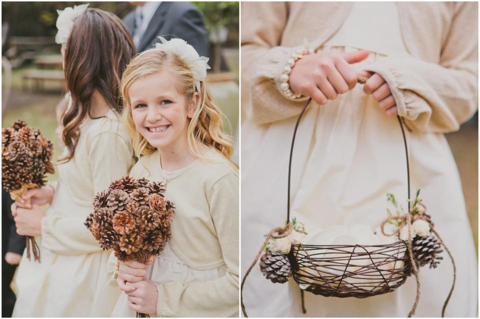 dekoracje na wesele z szyszek
