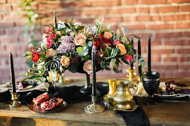 dekoracje stolu slub