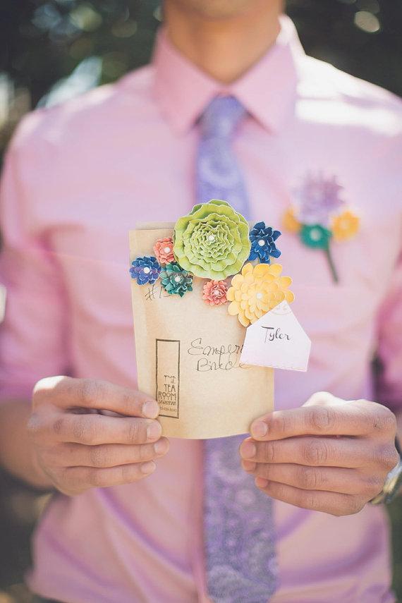 papierowe dekoracje kwiaty