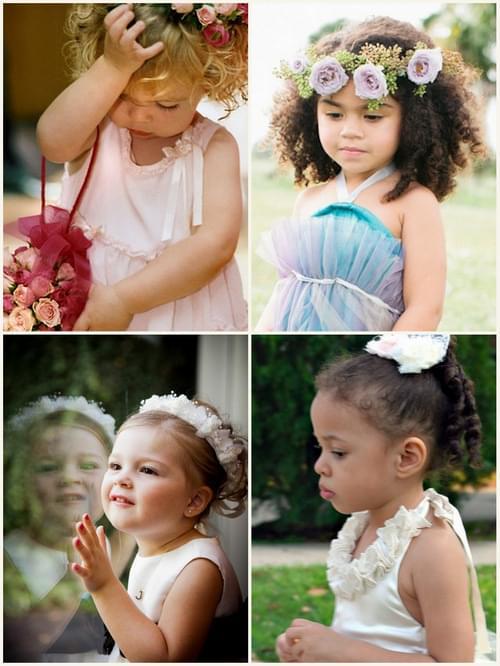 sukienki dla dziewczynek wesele ślub sypanie kwiatków