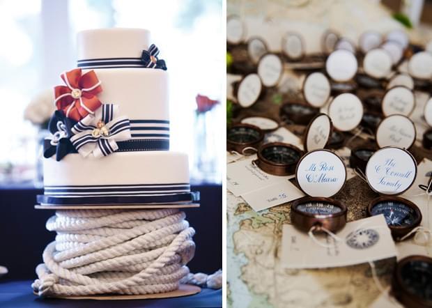 inspiracje ślub wesele nad jeziorem detale dekoracje pomysły zdjęcia nautyczne wesele