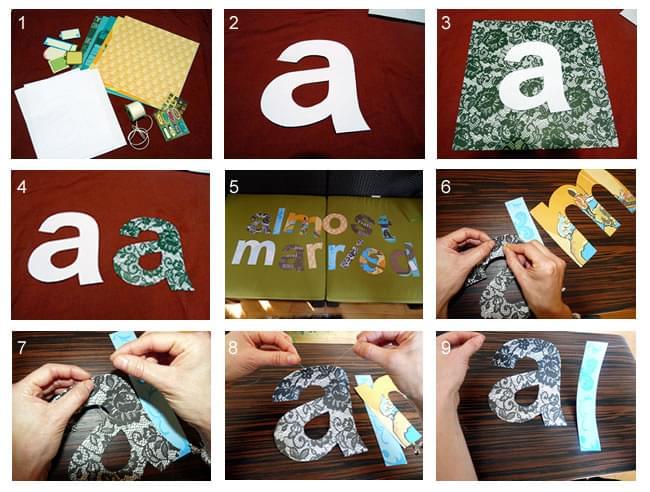 jak zrobić papierowe dekoracje na wieczór panieński samemu