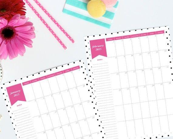 kalendarz przed ślubem