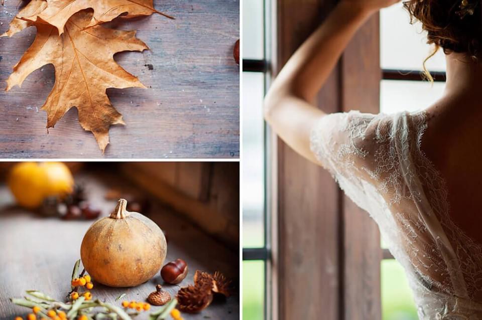 kolory na wesele jesienia