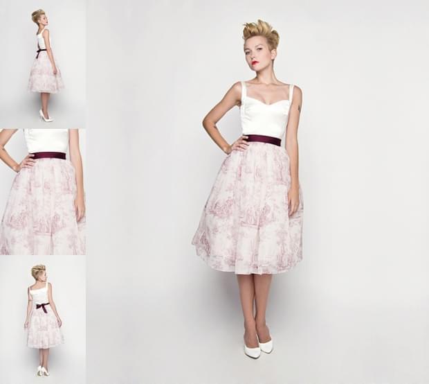 krótkie-sukienki-ślubne-2015-zdjęcie