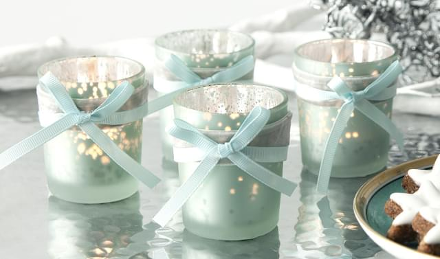 świeczki zimowe