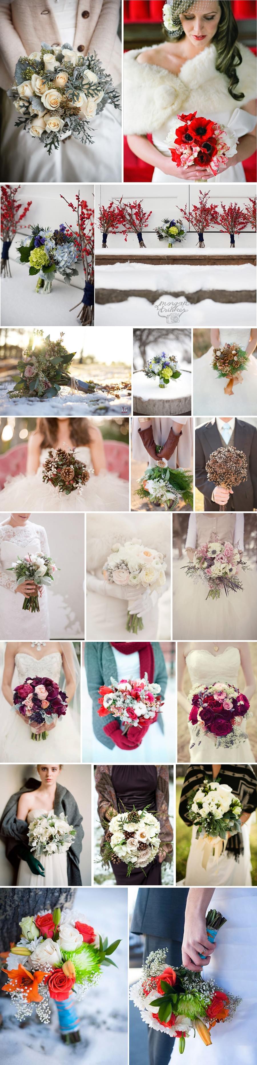 kwiatowe aranżacje dekoracje zimowe ślubne świąteczne bukiet ślubny zimą