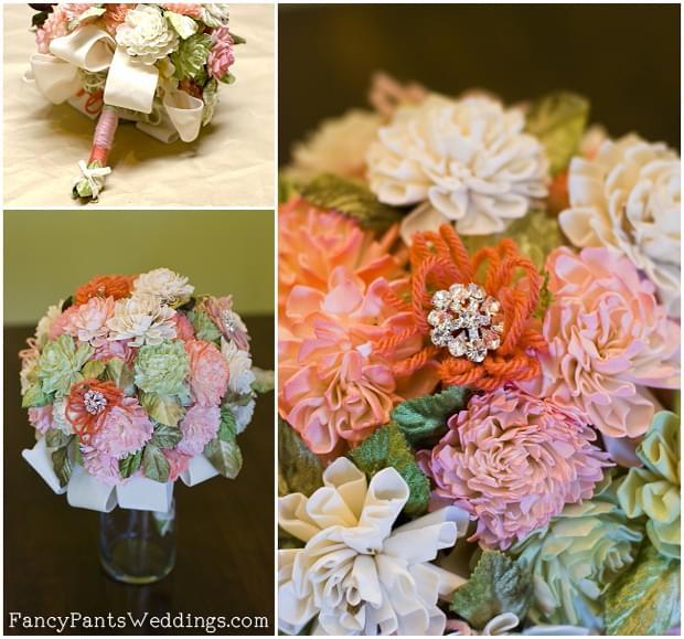 kwiaty na ślub sola diy