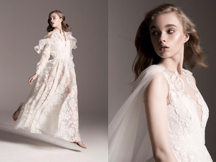 bf4ce63a7c Dla miłośniczek sukni ślubnych (witam w klubie!) mam dziś coś pięknego.  Przed Tobą pierwsza kolekcja ślubna tej polskiej projektantki.