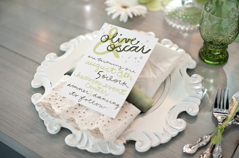 menu ślubne zdjęcie