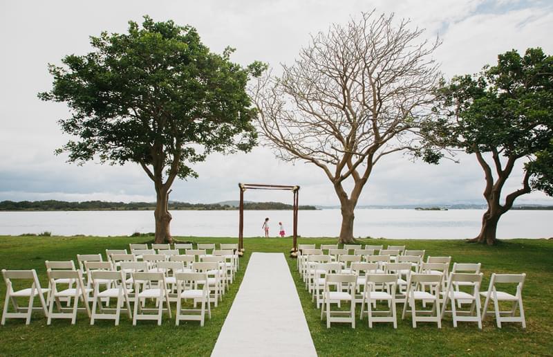 ślub i wesele nad jeziorem