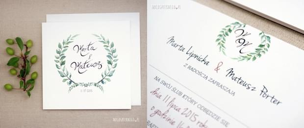 Które Wybrać Zaproszenie ślubne O Jakich Marzysz Lista