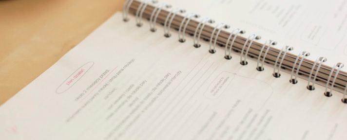 notatnik panny młodej organizer ślubny