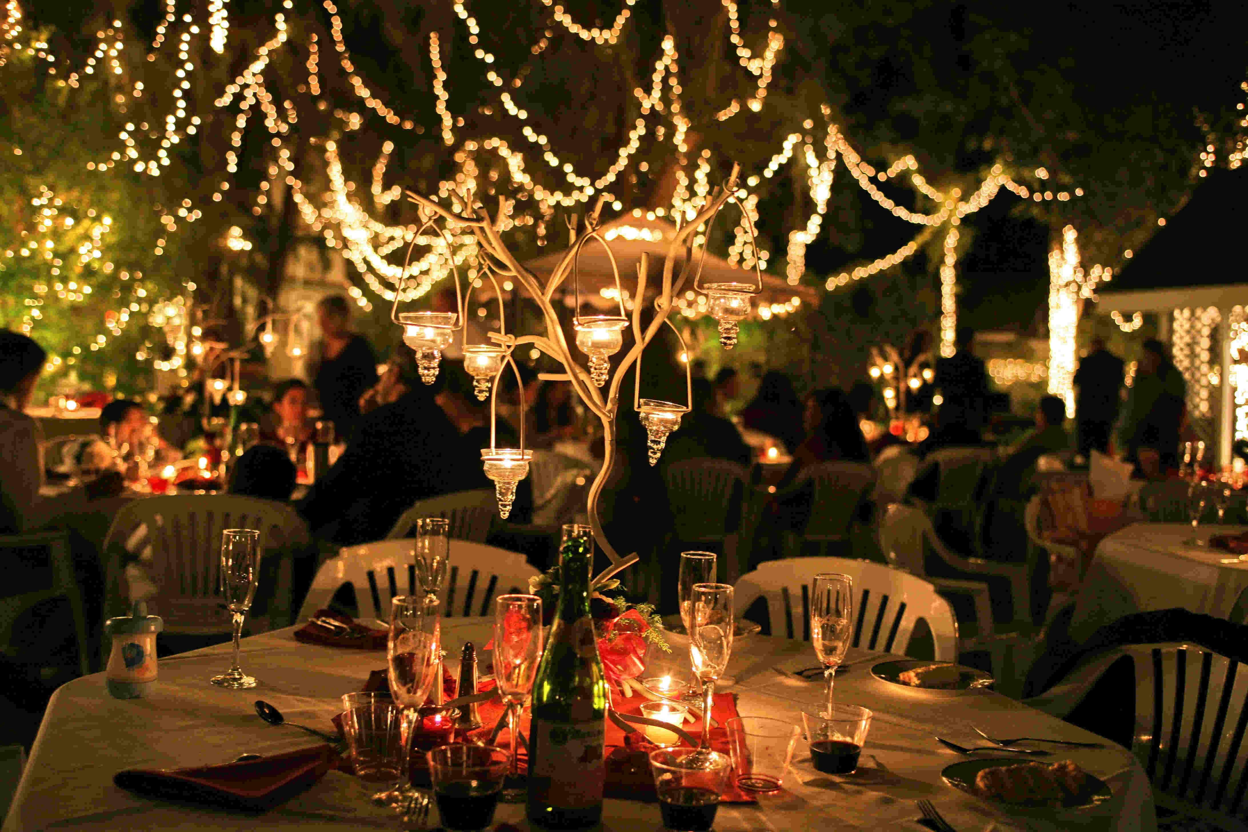 oświetlenie sali pomysły inspiracje wesele ślub