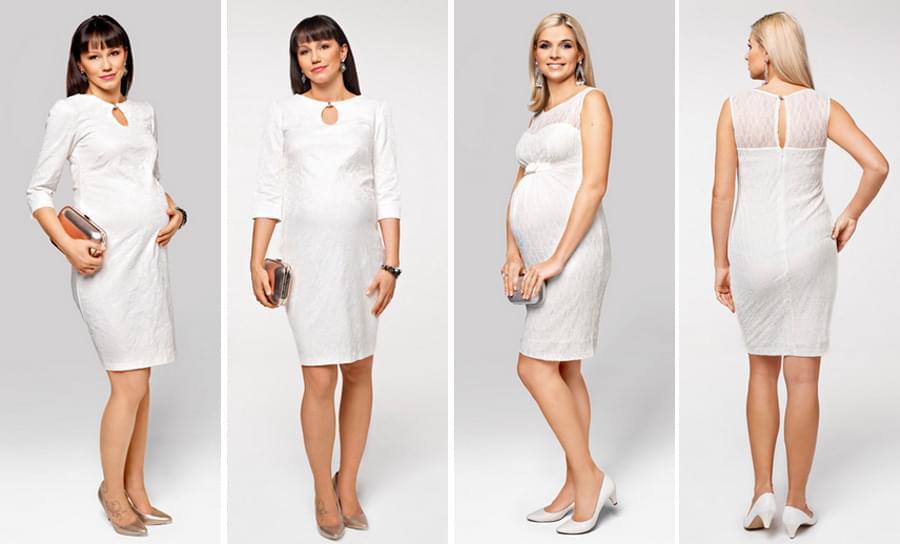 olekcja-ślubna-dla-panny-młodej-w-ciąży-krótka-sukienka1