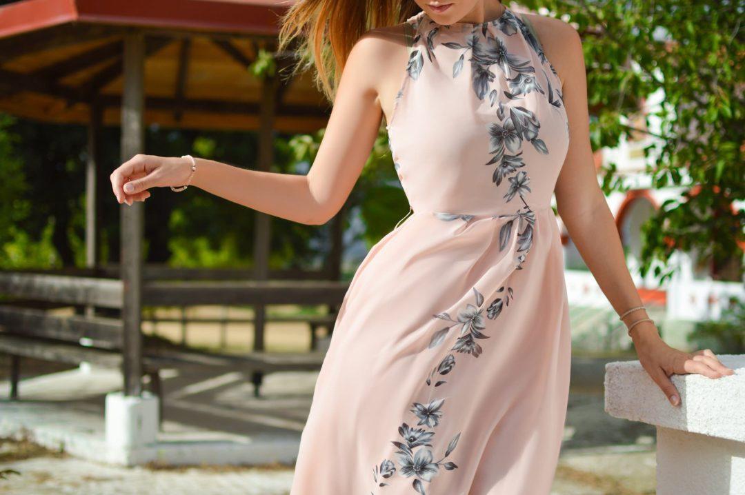 sukienka na wesele zdjecie