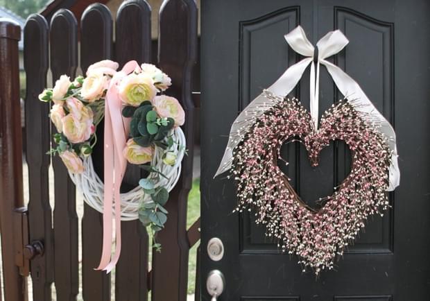 podwórko ustrolone na wesele