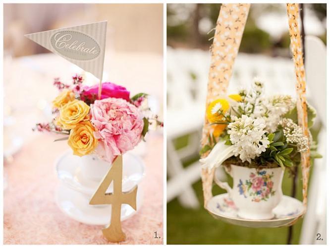 numery stołów na wesele dekoracje stołów plenerowy ślub