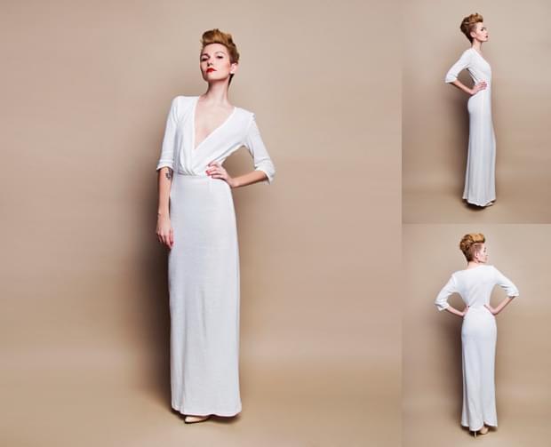 prosta-suknia-ślubna-zdjęcie