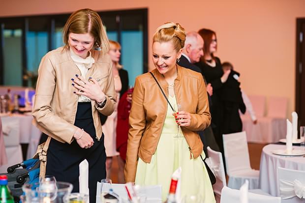 reakcja gości weselnych na upominki