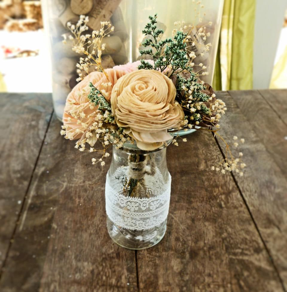 diy rustic wedding decorations sweet wedding dekoracje ślubne w stylu vintage i 27740