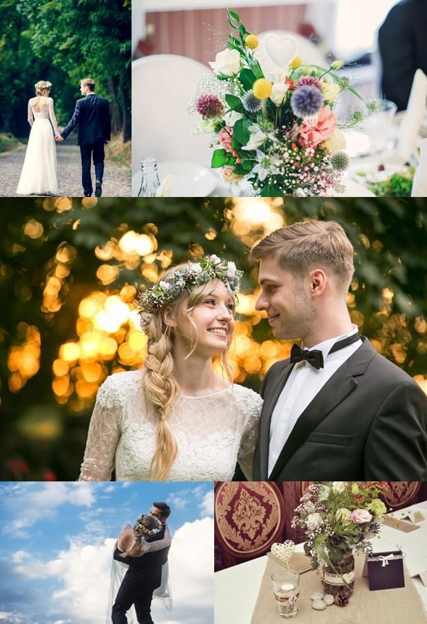 rustykalne wesele wianek zdjecie