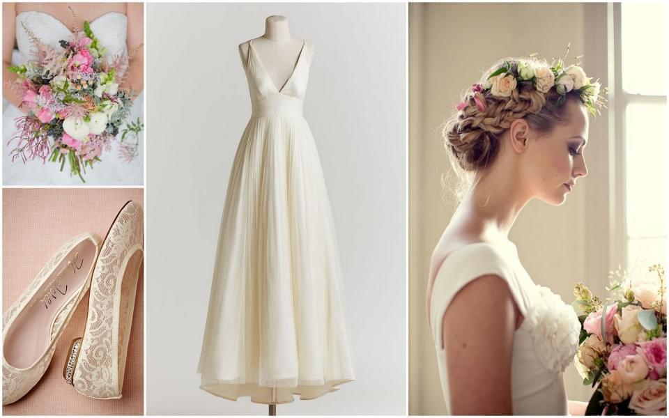 rustykalna panna młoda suknia