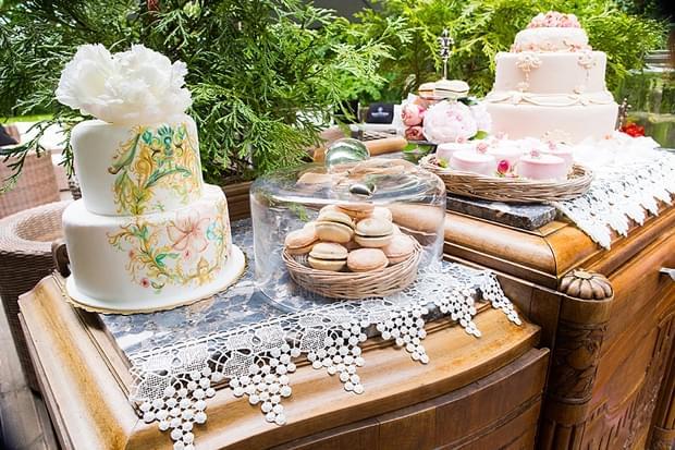 słodki bufet na weselu zdjęcia