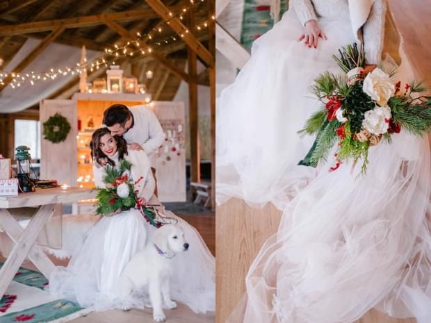 ślub wesele święta zima sesja stylizowana (29)