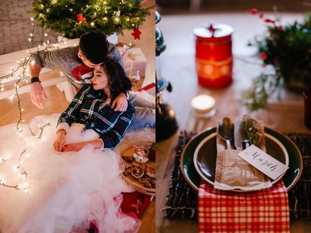 ślub wesele święta zima sesja stylizowana (42)