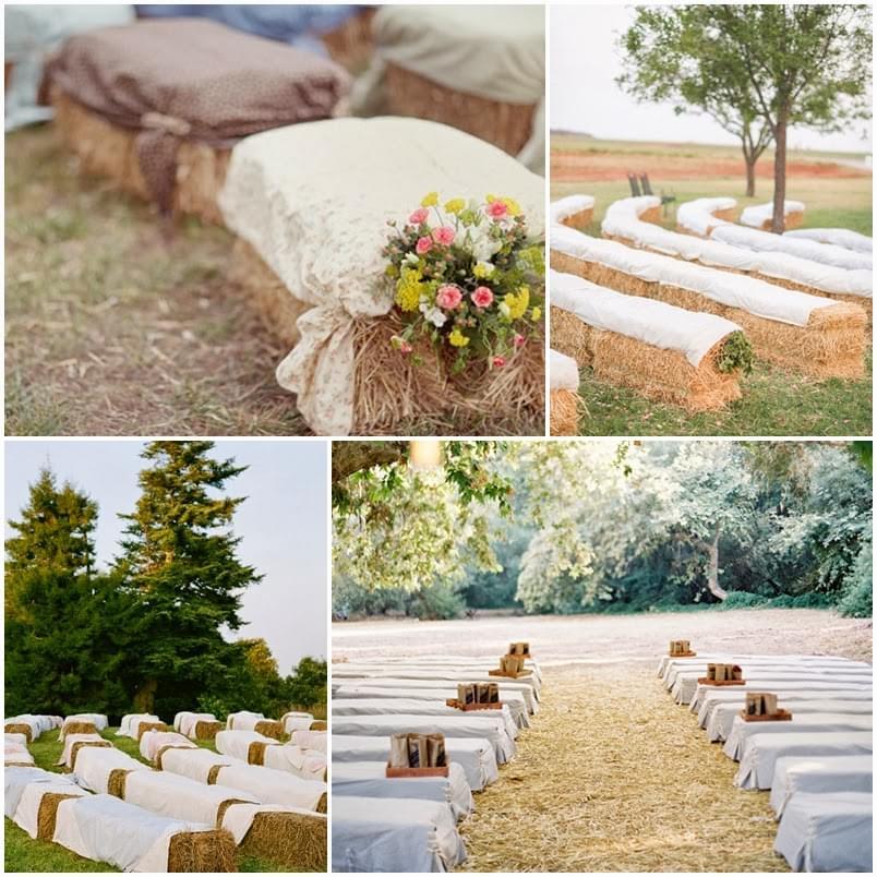 snopki słomy na wesele