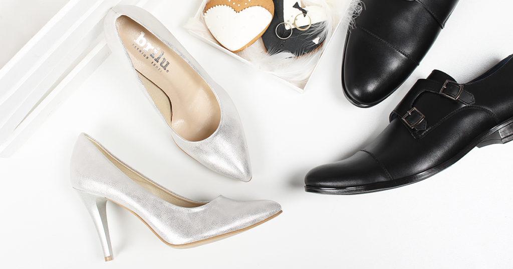czarne buty slubne zdjecie