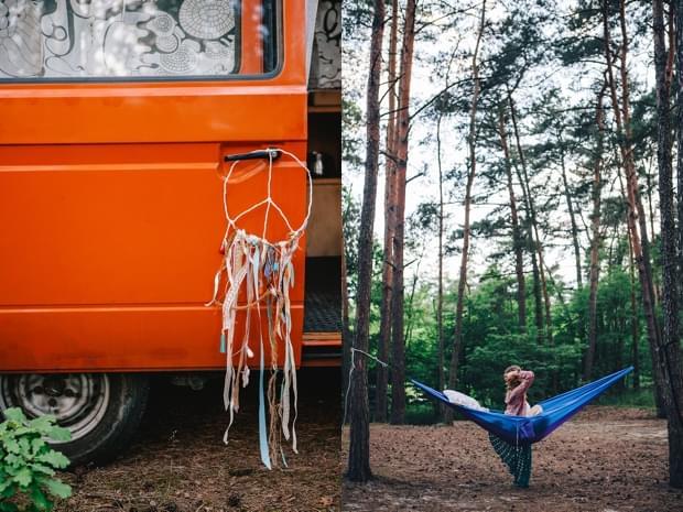 stylizowana sesja narzeczeńska hippie zdjęcie (38)