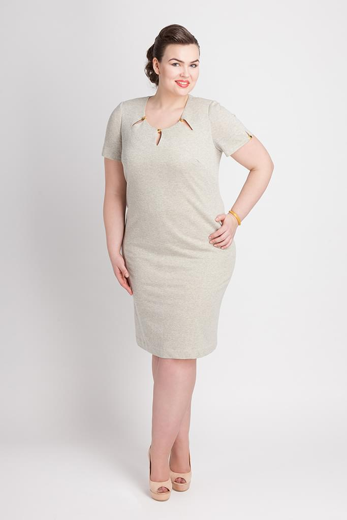 sukienka dla świadkowej duży rozmiar