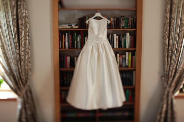 suknia ślubna pronovias prosta