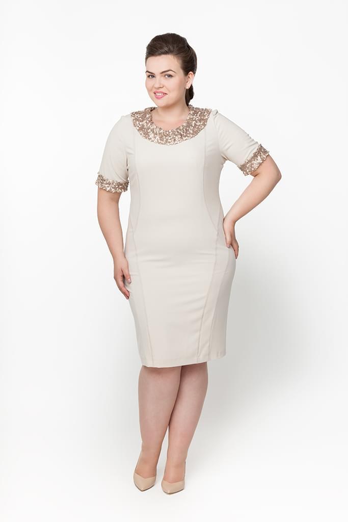 suknia z cekinami dla świadkowej
