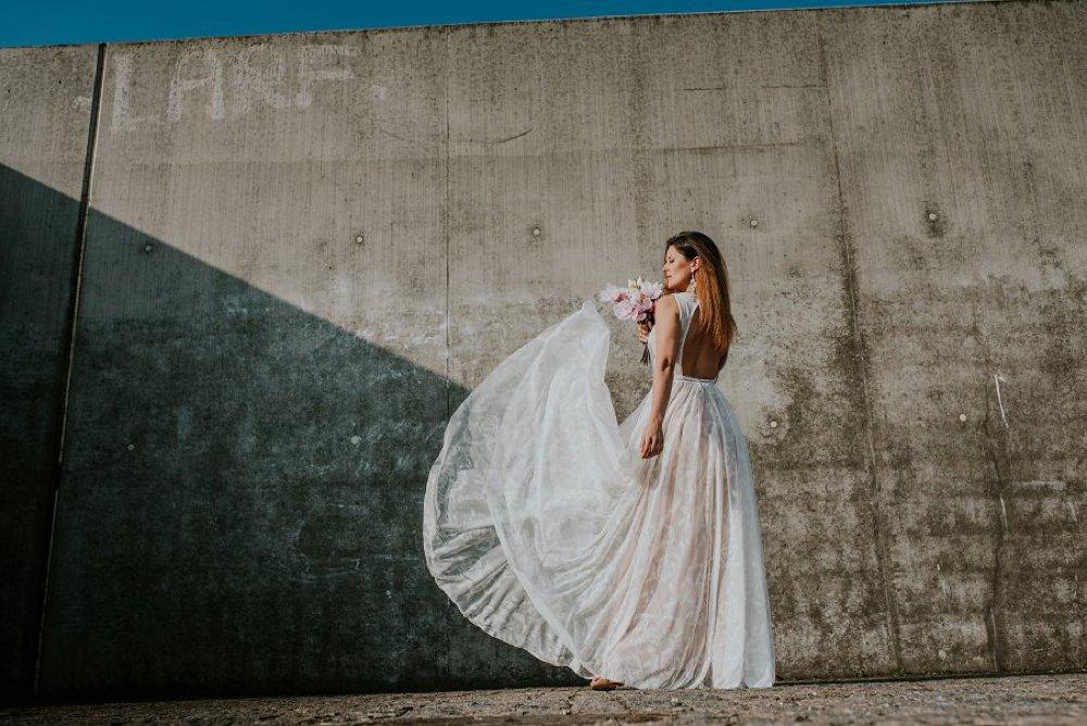 suknie slubne boho zdjecie